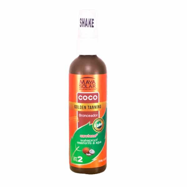 Loción Bronceadora biodegradable Coconut