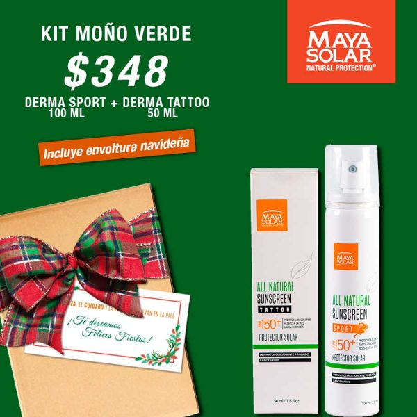 Kit Navideño Verde Derma