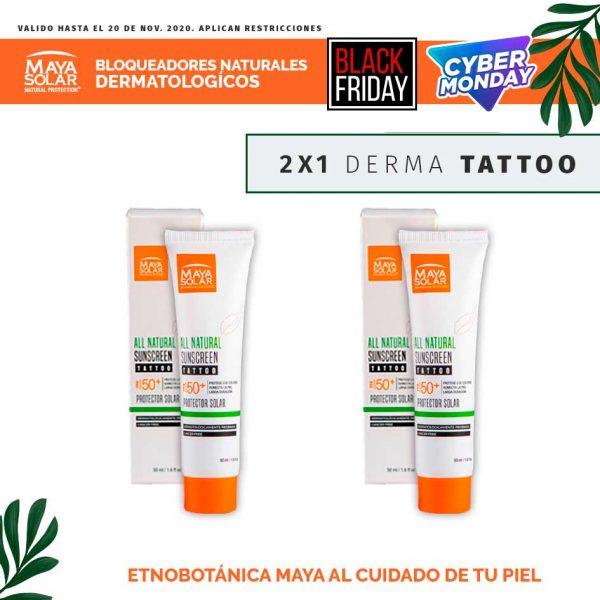 Promocion derma tattoo al 2x1