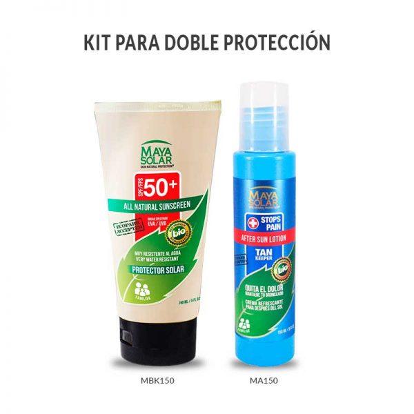 kit cuidado de protección solar