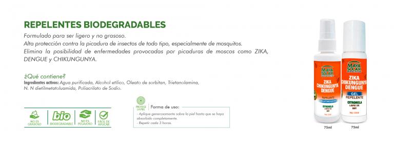 Repelente Biodegradable